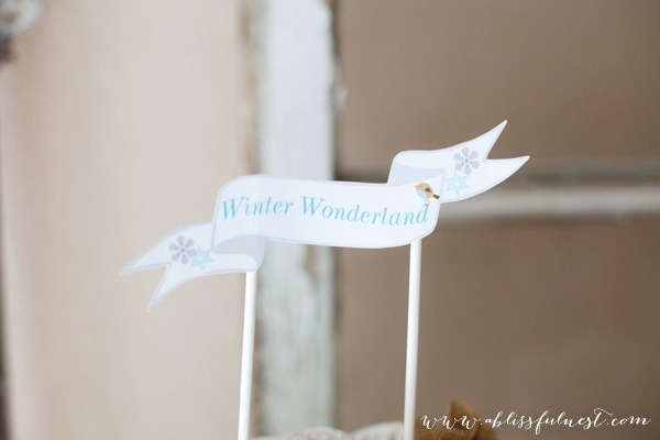 Winter Wonderland by A Blissful Nest