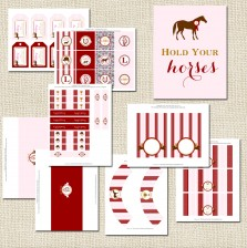 Horse Party Collection - A Blissful Nest