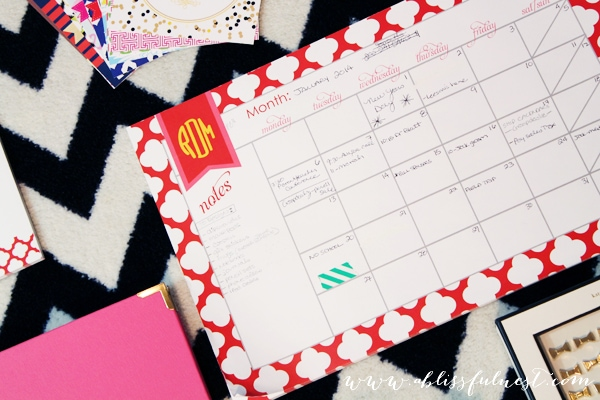 Getting Organized – The Blissful Way!