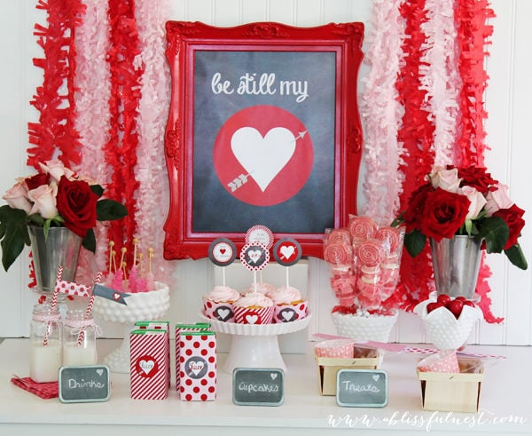 Be Still My Heart – A Sweet Valentine's Day Party
