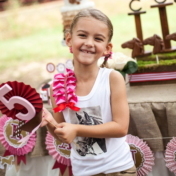 Lauren's Horse Party – Birthday Outfit Details