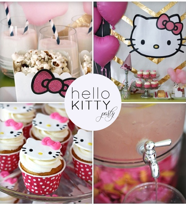 Hello Kitty Party Collage