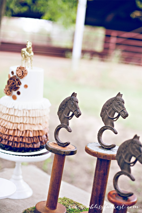 Horse Party by A Blissful Nest 036 Laurens Horse Party   The Dessert Table