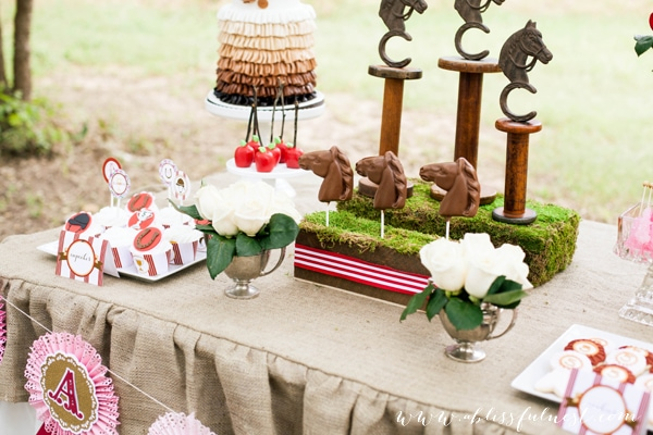 Horse Party by A Blissful Nest 056 Laurens Horse Party   The Dessert Table