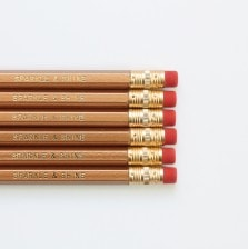 Sparkle & Shine Pencils by A Blissful Nest