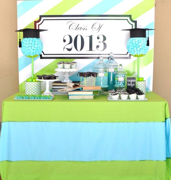 Black book of parties graduation party ideas for 8th grade graduation decoration ideas