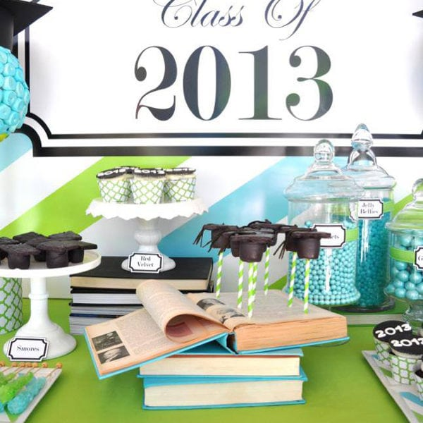 May The 4th Be With You Graduation: {Black Book Of Parties} Graduation Party Ideas