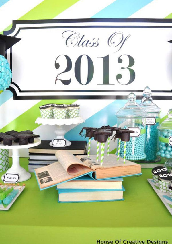 {Black Book Of Parties} Graduation Party Ideas by House Of Creative Designs