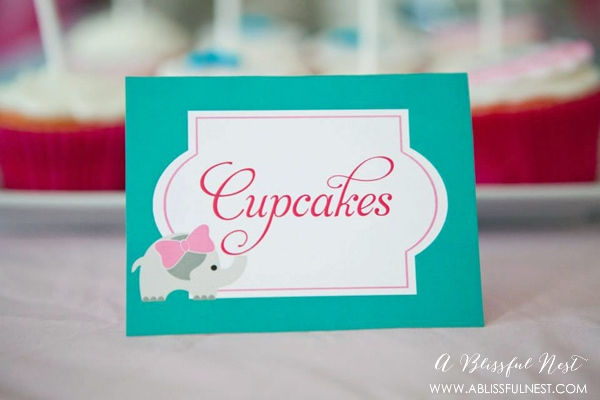Baby Elephant Baby Shower by A Blissful Nest