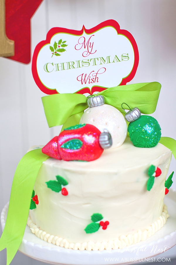 Christmas Wish Party by A Blissful Nest