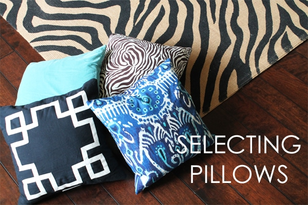 {Our Home} Living Room Pillow Ideas