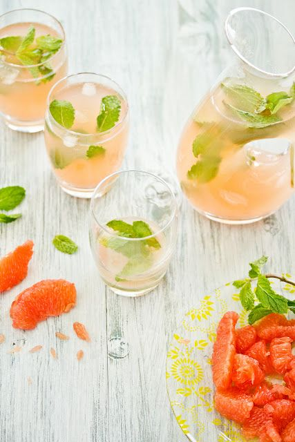 Grapefruit and Mint Cooler