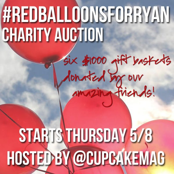 Red Balloons For Ryan Auction