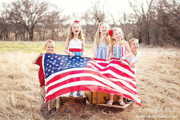 4th Of July Party Ideas – Vintage Americana Picnic & BBQ