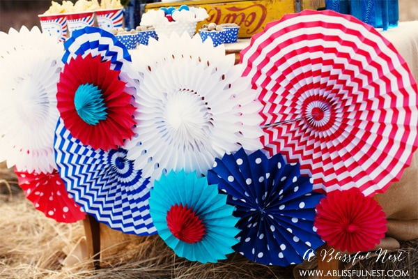 4th of July Party Ideas by A Blissful Nest
