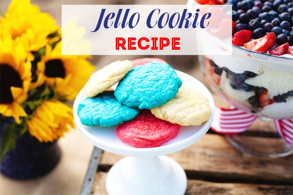 Jello Cookie Recipe by A Blissful Nest
