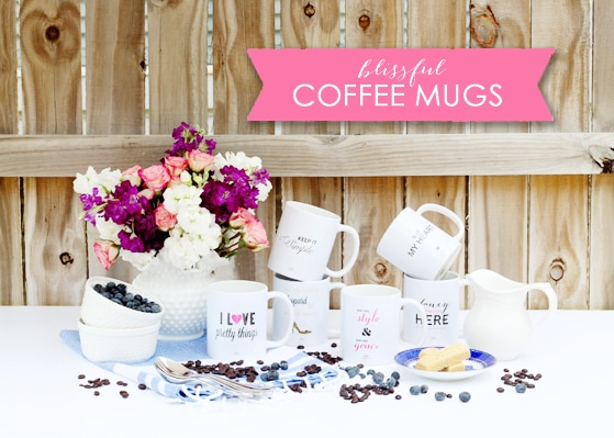 Blissful Coffee Mugs – They're Here!!