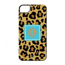 Cheetah Cell Phone Case - Blue
