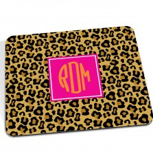 Cheetah Mousepad Pink - A Blissful Nest