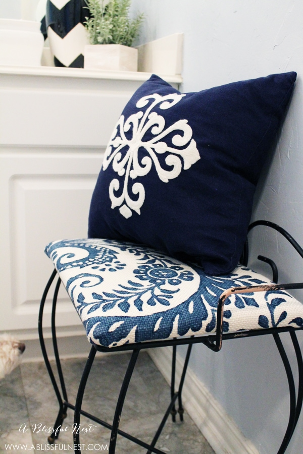 DIY Recovered Bench by A Blissful Nest