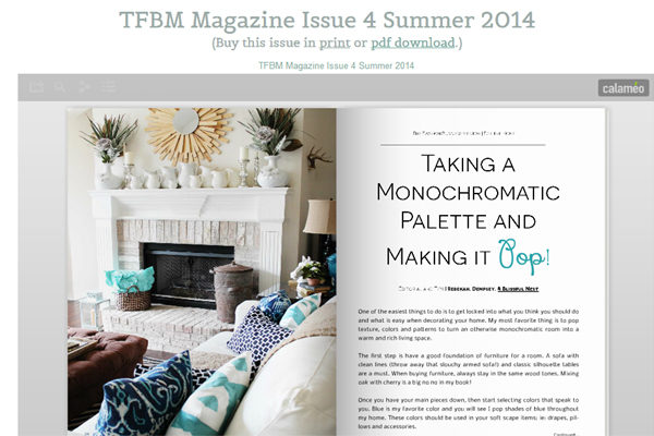{Featured} TFBM Magazine