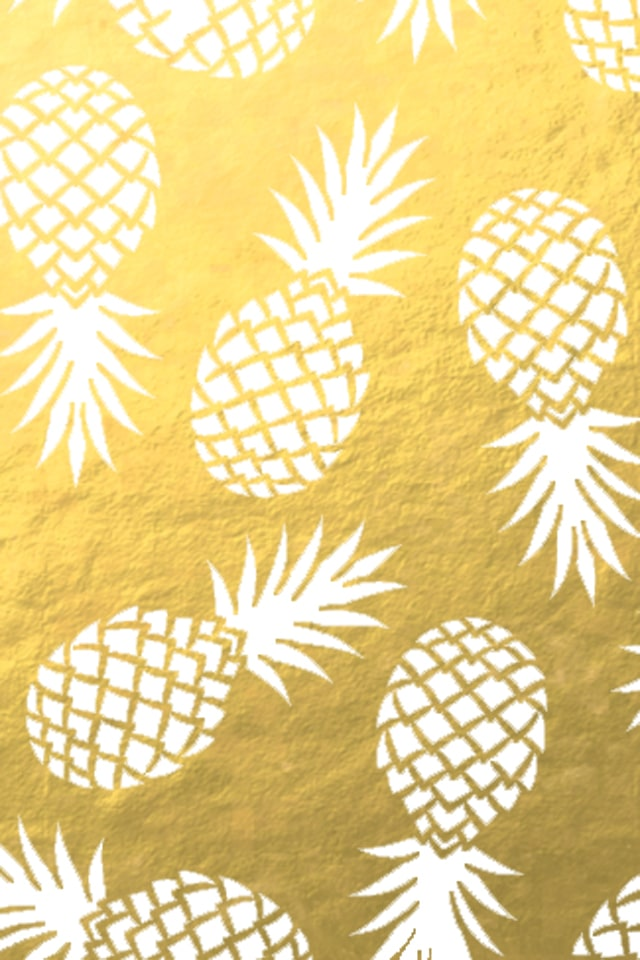 Pineapple Wallpaper Amusing Of Pineapple Gold iPhone Images
