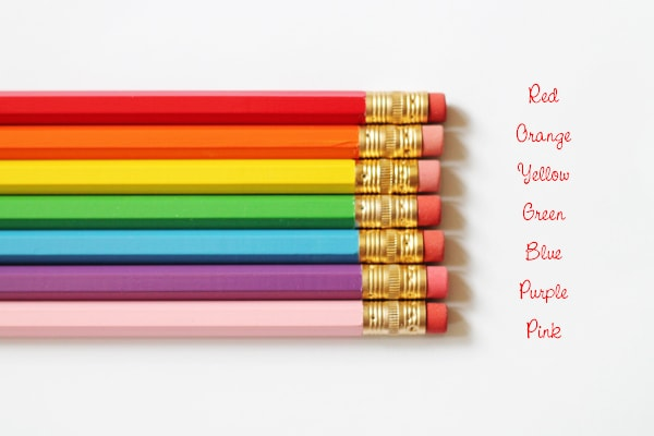 Back To School Pencils by A Blissful Nest