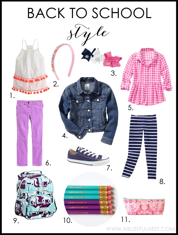 Back To School Style by A Blissful Nest