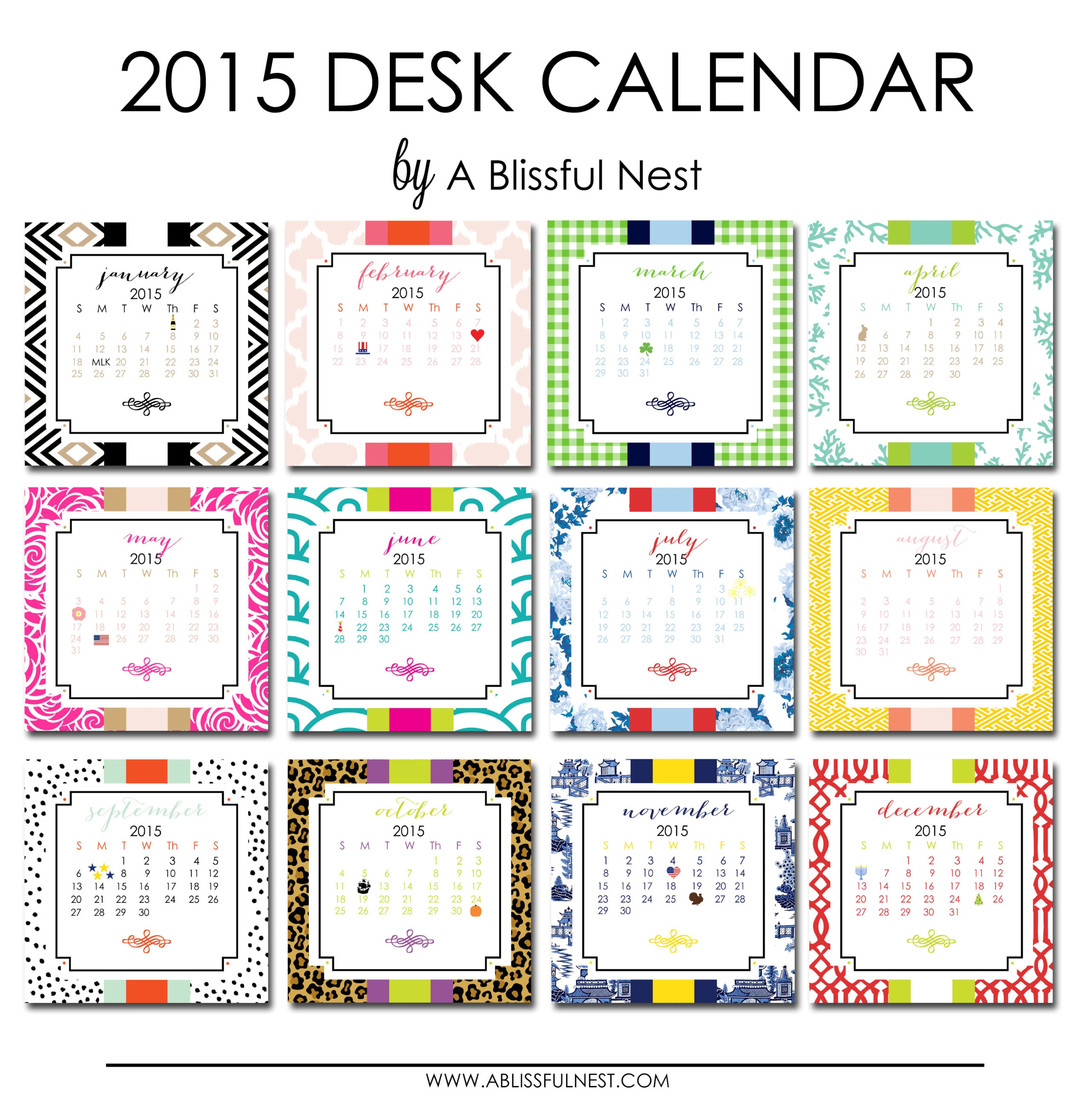 "Desk Calendar Printables : Search results for ""printable desk calendar"
