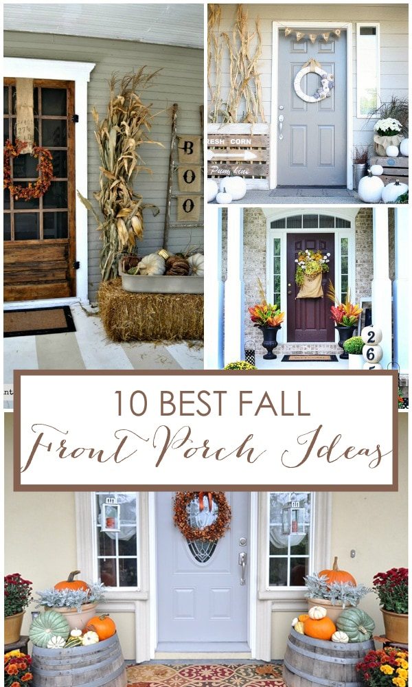 10 best fall front porch ideas - Fall front porch ideas ...