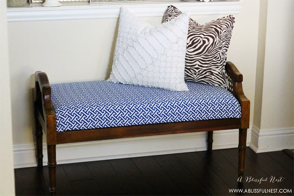 {Our Home} Updated Entry Ideas & A New Bench