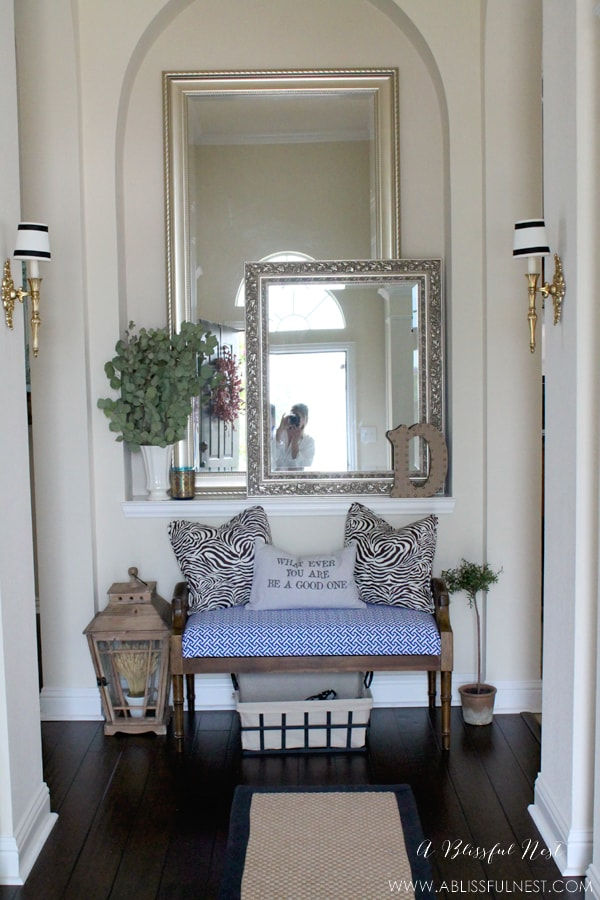 Entry Way Ideas by A Blissful Nest