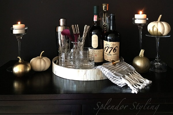 Fall Decorating Ideas – Chic Fall Decor For Your Bar
