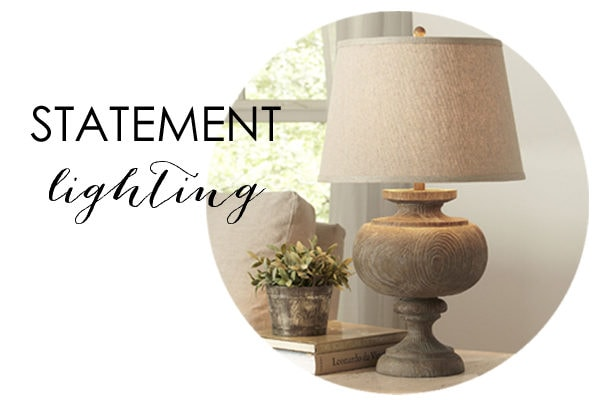 Statement Lighting Fixtures