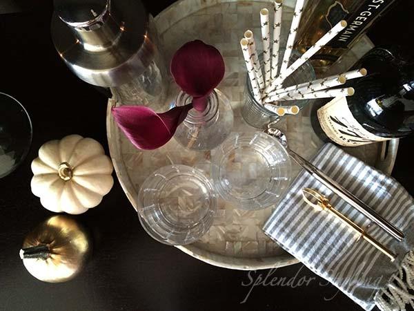 flowers-pumpkins-fall-decor-diy-gold-spray-paint-chic-bar