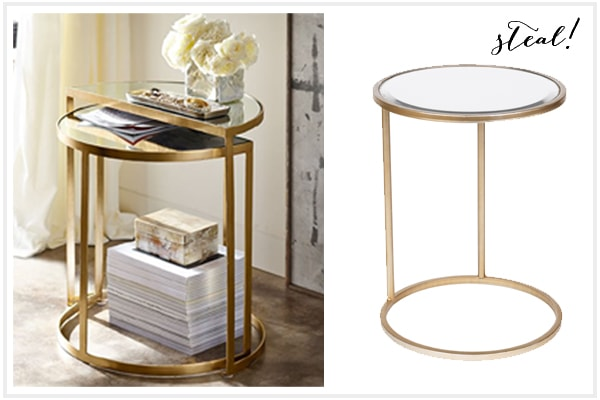 Side Table - Look For Less - Kirkland's Edition