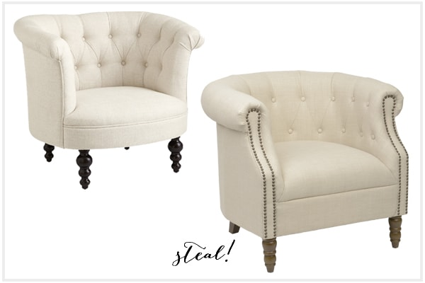 Tufted Chair - Look For Less - Kirkland's Edition