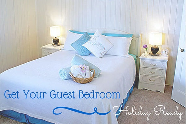 Holiday Guest Room Tips by Home Sweet Homemaker