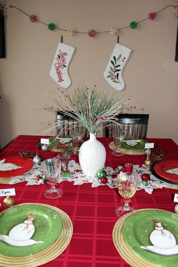 Superior Christmas Dinner Party Ideas Part - 13: Christmas Dinner Party Ideas By Ellery Designs 005