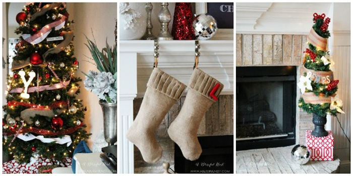 {Our Home} Christmas Home Tour & Free Printable