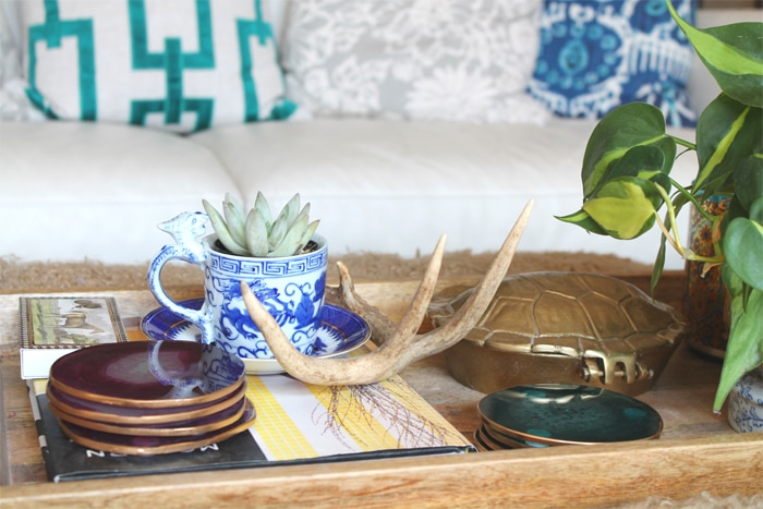 DIY Gold Leaf Agate Coasters Tutorial
