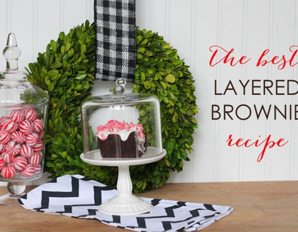 The Best Layered Brownie Recipe
