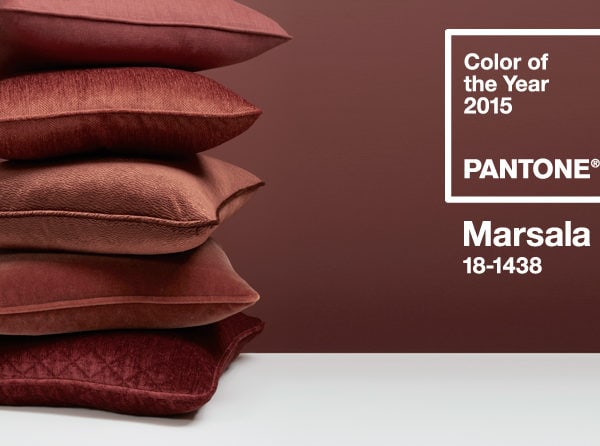 Decorating with Marsala – Pantone Color Of The Year 2015