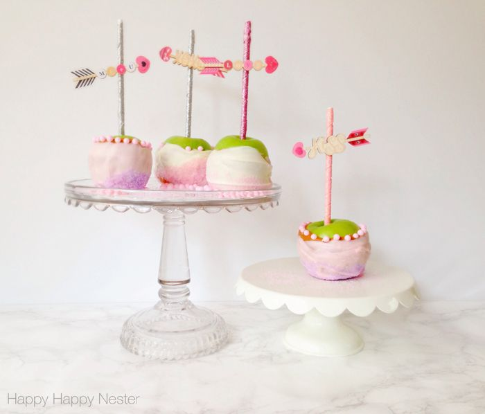 Caramel Apples - Valentines Day Inspiration