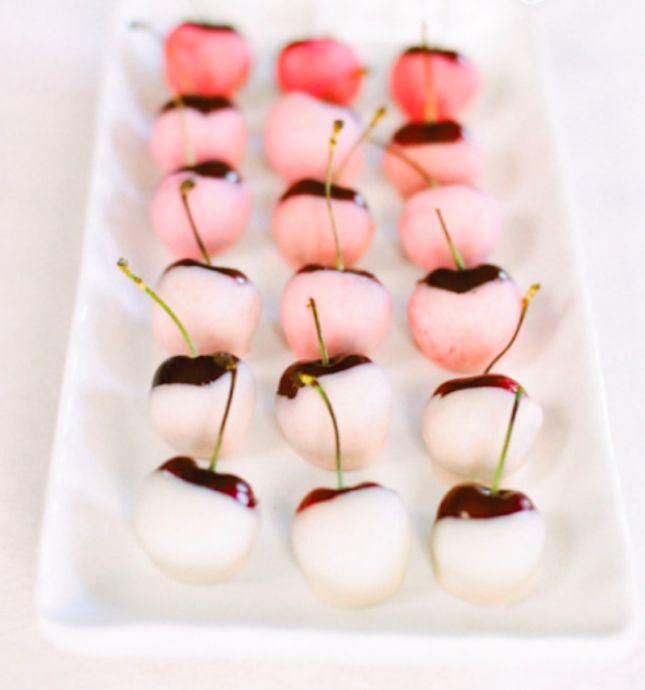 Ombre Cherries - Valentines Day Ideas