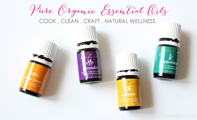 About Essential Oils - Young Living Essential Oils via A Blissful Nest