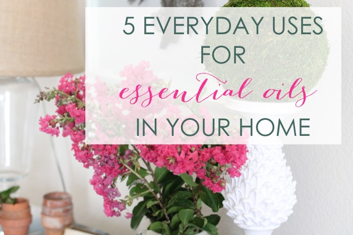 5 Everyday Uses For Essential Oils