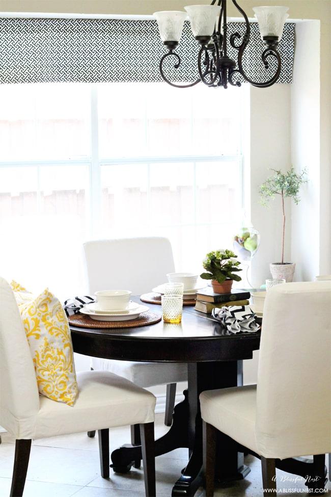 Breakfast Room by A Blissful Nest