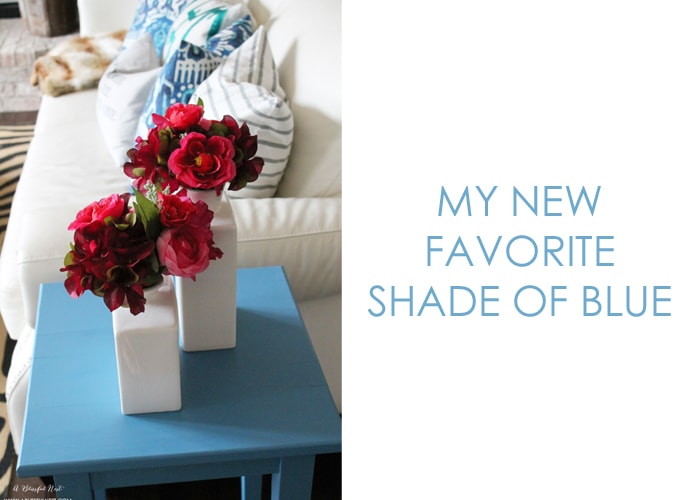 31 Days Of Color & My Favorite New Shade Of Blue