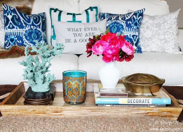 Spring Blog Hop home Tour with Goodwill Glam!